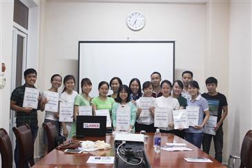 Bế giảng lớp tiếng Anh Doanh nghiệp tại Công ty Cổ phần Đầu tư Dệt May Thiên An Phát