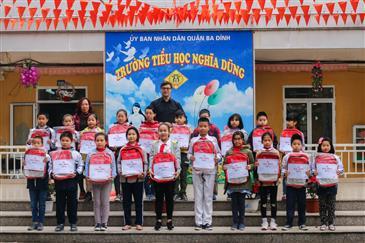 Nhật ký những ngày thi tại trường Tiểu học Nghĩa Dũng