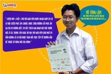 """Vũ Tùng Lâm- Học viên đạt IELTS 7.5 chia sẻ: """" Để đạt Reading 9.0 không khó đâu ạ!"""""""