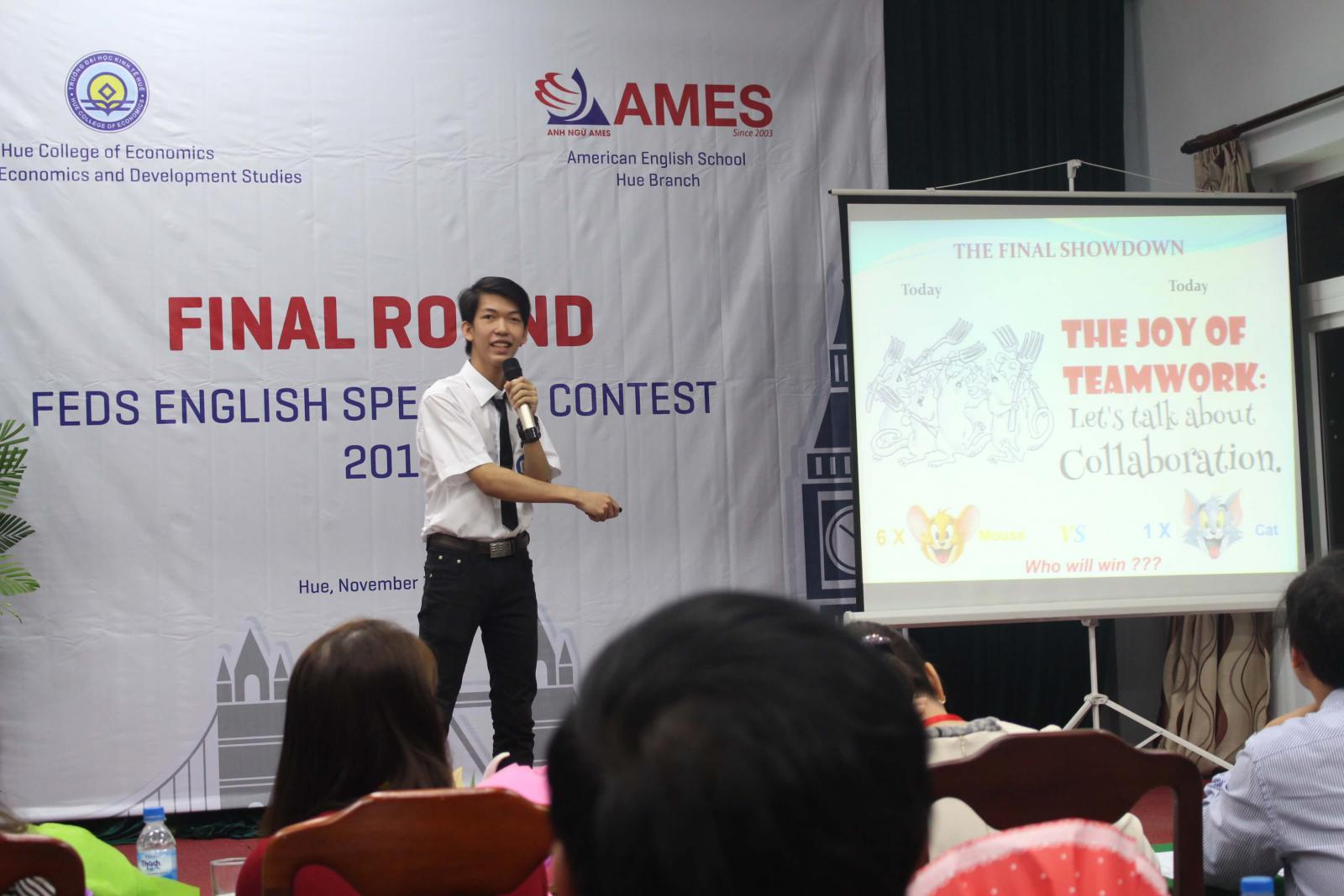 AMES - FEDS ENGLISH SPEAKING CONTEST 2016